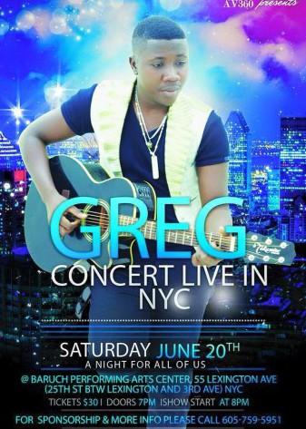 Greg à New-York